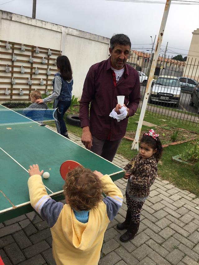 integração com as familias