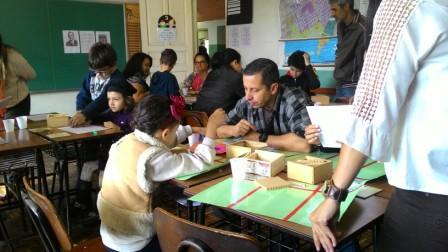 Famíliacomemora dia da matemática