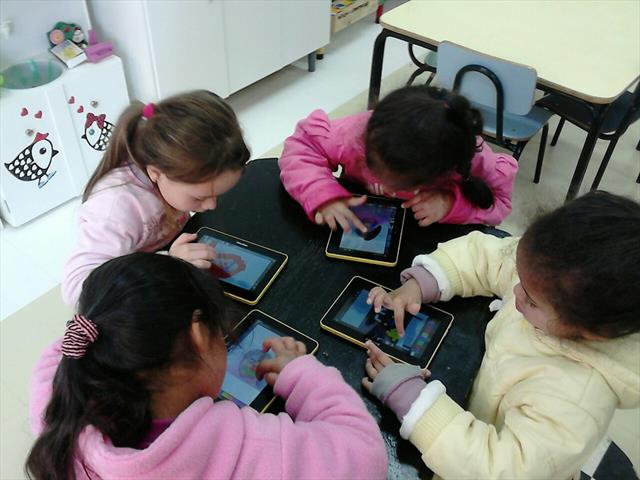 Uso dos tablets