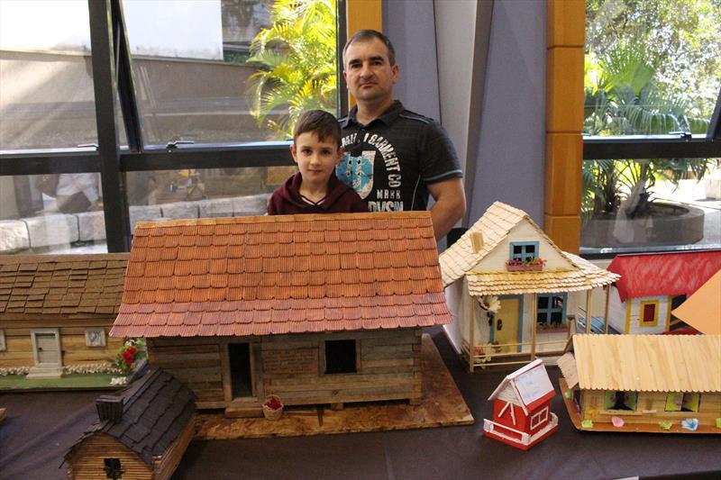 Mini casas polonesas