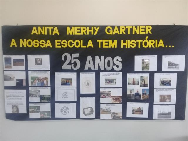 Aniversário de 25 anos da E. M Anita Merhy Gaertner