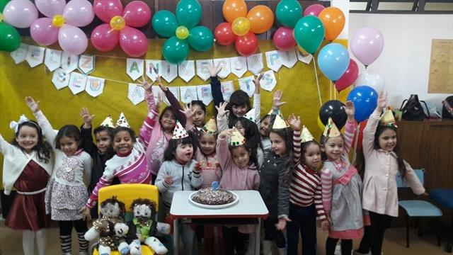 O Aniversário do Seu  Alfabeto na Educação Infantil