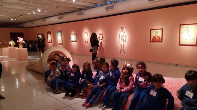 Uma tarde no Museu