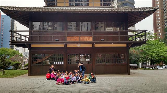 CMEI Vila Parolin na Praça do Japão - Linhas do Conhecimento
