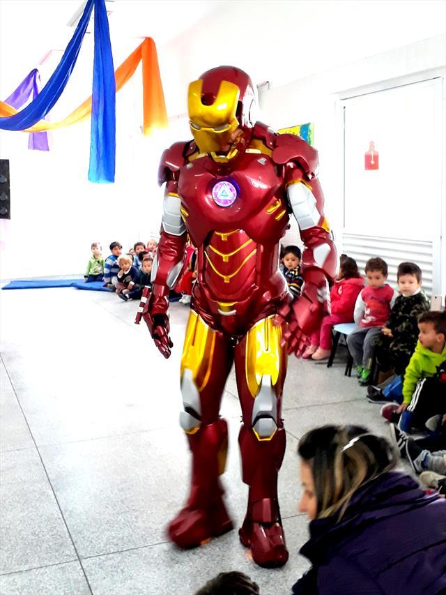 Quem disse que super herói não existe?