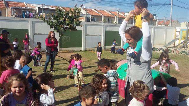 integração das crianças