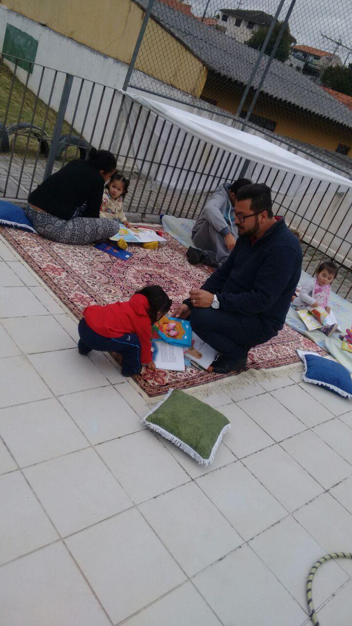 Dia com as famílias