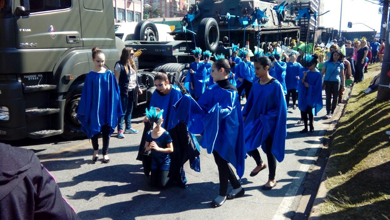 Desfile Cívico Tesserolli
