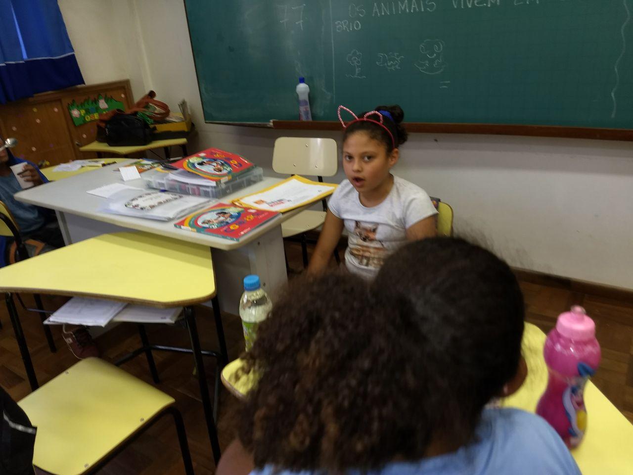 Contação de Bio histórias.Revivendo o que se aprende.3ºano D-ProfºLuciana Senra