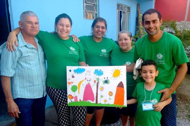Dia de Passeio - Família e natureza - Um solo fértil