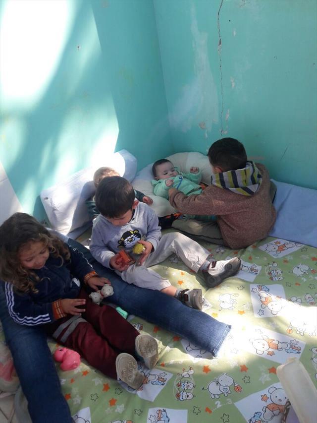 Fotos para as famílias acompanharem as atividades