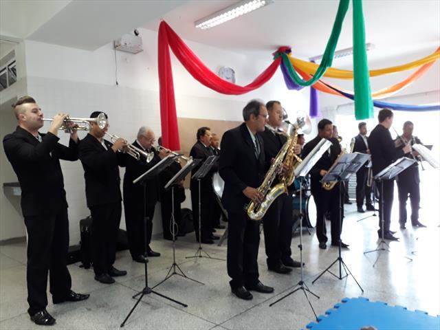 Visita da Banda Lyra Curitibana
