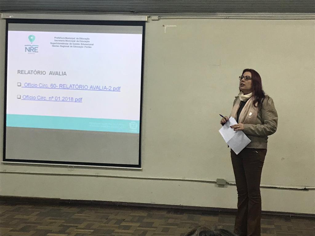 Reunião pedagógico administrativa