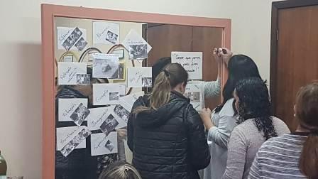 REFLETINDO E COMPARTILHANDO PRÁTICAS