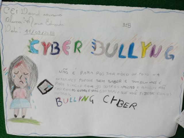 DIGA NÃO AO CYBERBULLYING!