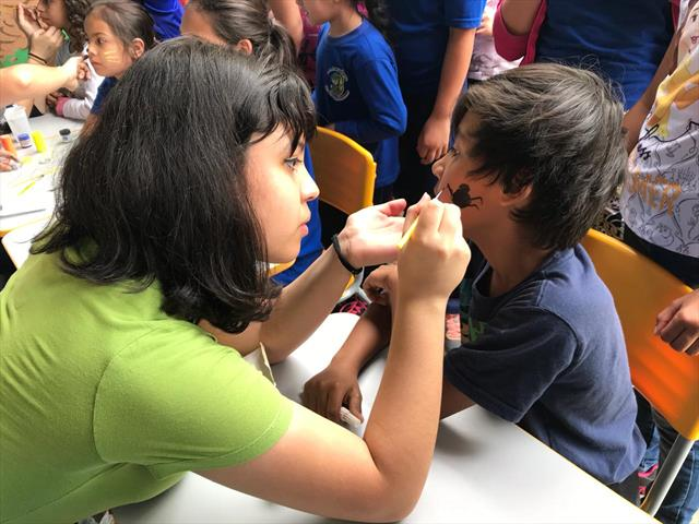 Festa das crianças com o Colégio Adventista