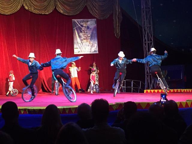 Circo Itinerante no Parque Barigui. Lançamento do