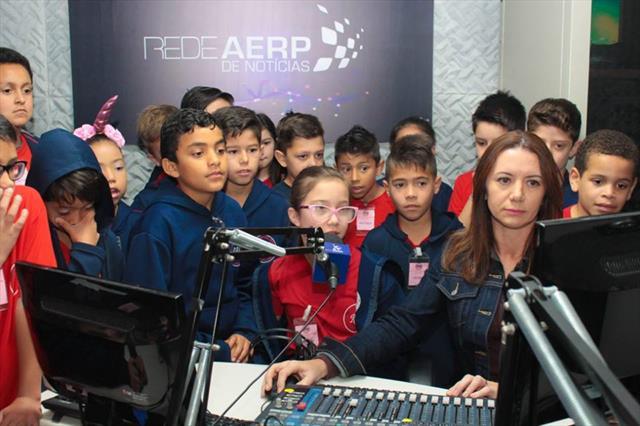 Visita à AERP - Associação das Emissoras de Radiodifusão do Paraná
