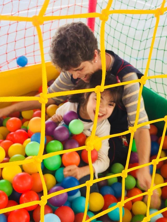 Brincadeiras e interações na semana da criança