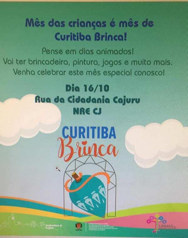 Curitiba Brinca na Rua da Cidadana Cajuru 16/10/2018