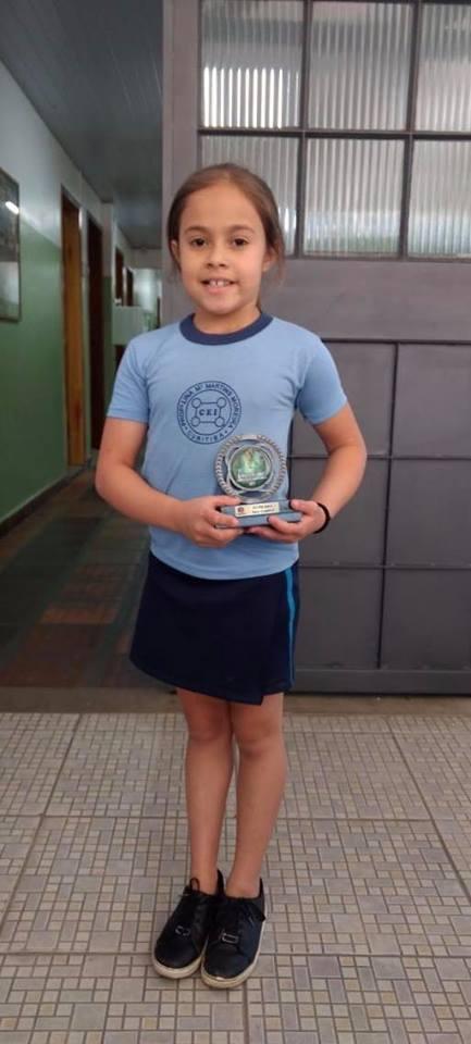 Parabéns pelo vice-campeonato na Copa Escolar de G