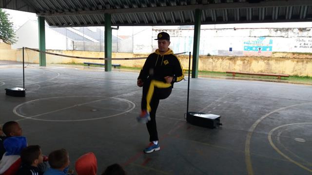 Inovação e criatividade na 1ª Feira de Esporte da E.M. Irati
