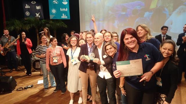 Prêmio ODS 2018 - Programa Linhas do Conhecimento.