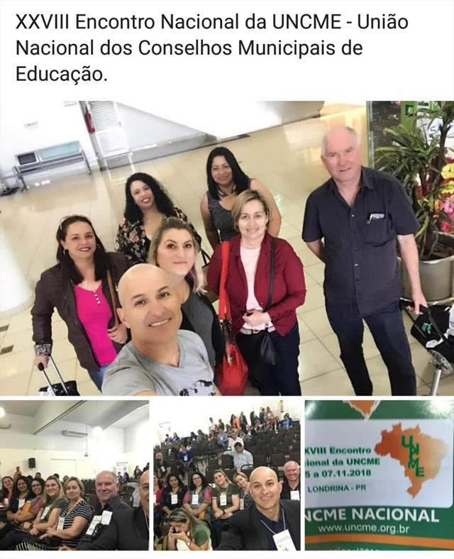 XVIII ENCONTRO DE CONSELHOS MUNICIPAIS DE EDUCAÇÃO.