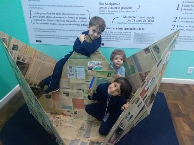 Educação Infantil visita o Museu da Vida