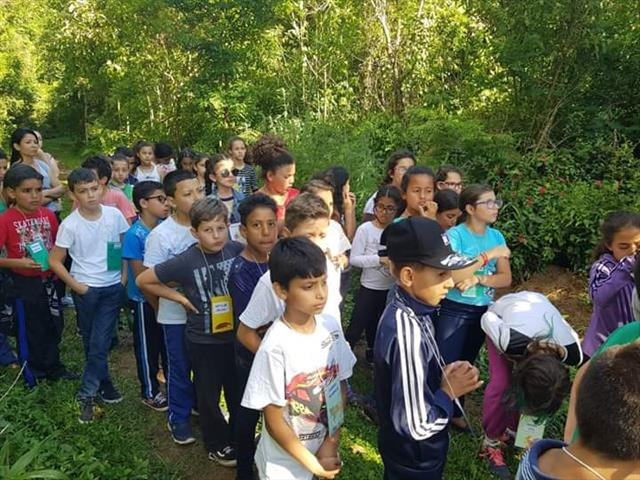 Acantonamento no Zoológico de Curitiba