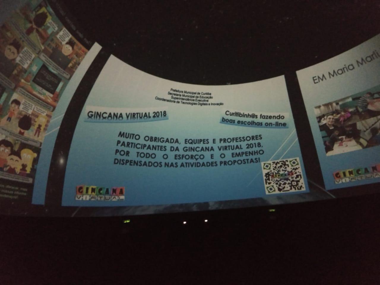 Fotos da Gincana Virtual 2018