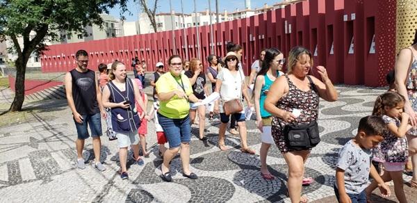 Integração na Praça Zumbi dos Palmares