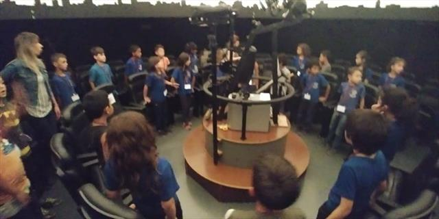Aula de campo 3º Ano Planetário - CEP