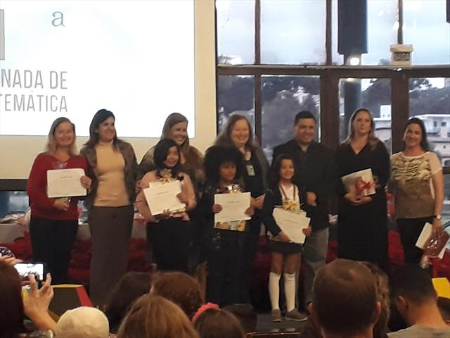 Estudante ganha 1º lugar em Jornada de Matemática.