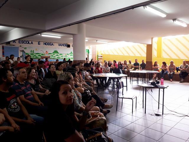 1ª Assembléia e  Reunião de Pais