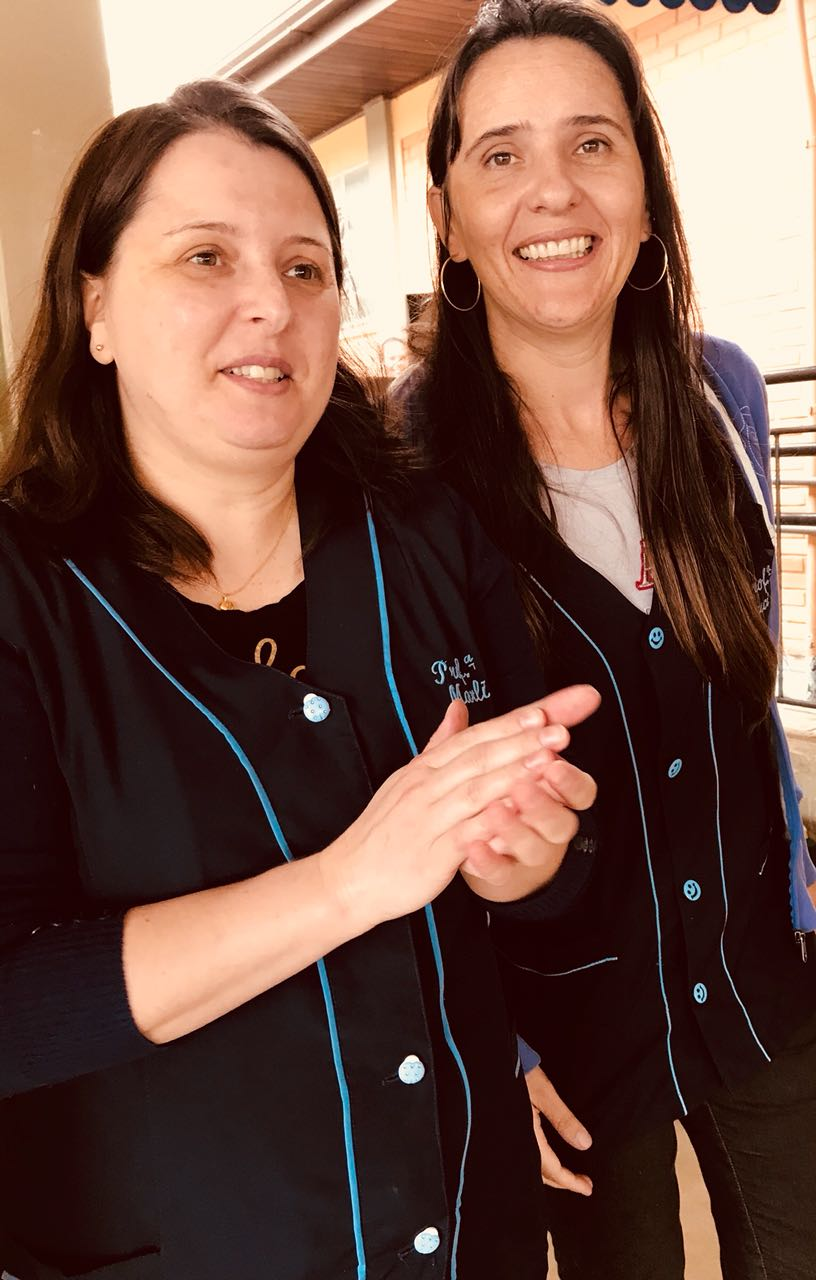 Professoras Marli e Luci
