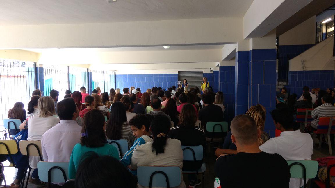 1.ª Reunião de Pais