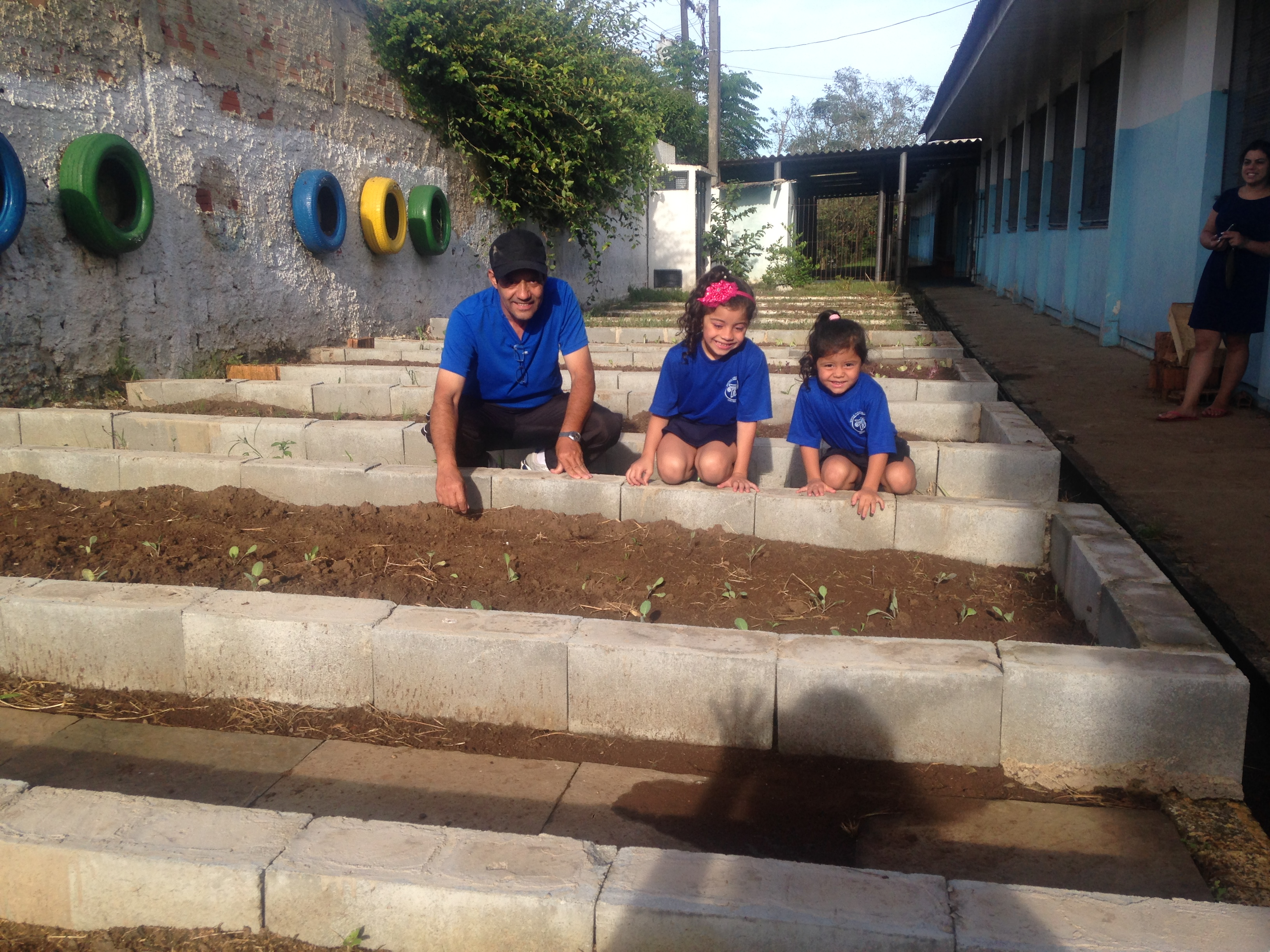 Horta - Escola/comunidade