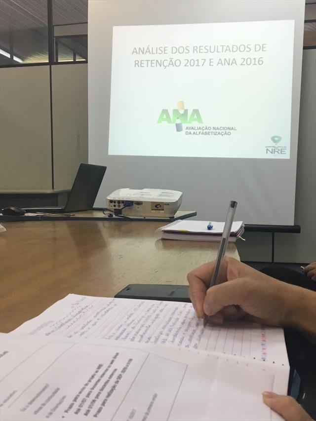 Diretores e Pedagogos das escolas realizam estudos a partir dos resultados da ANA