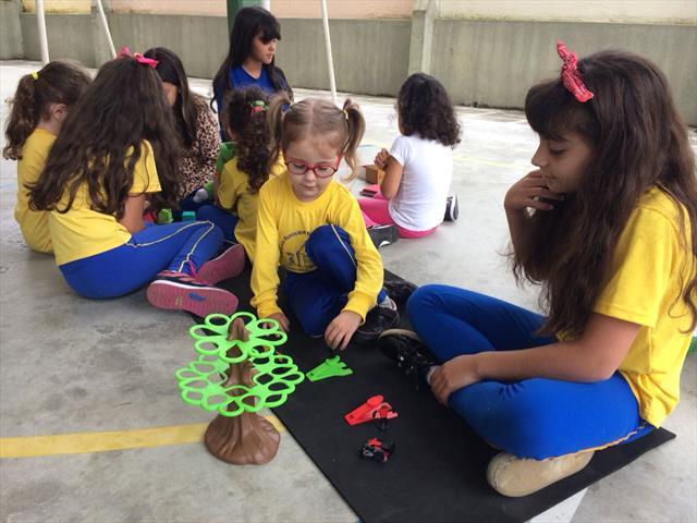 Integração 5ºA e Educação Infantil