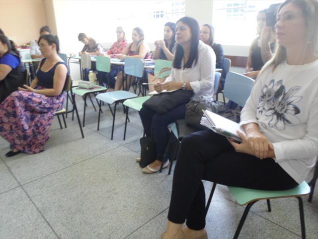 Encontro de Pedagogas e Articuladoras do Núcleo do Boqueirão no CEI Érico Veríssimo