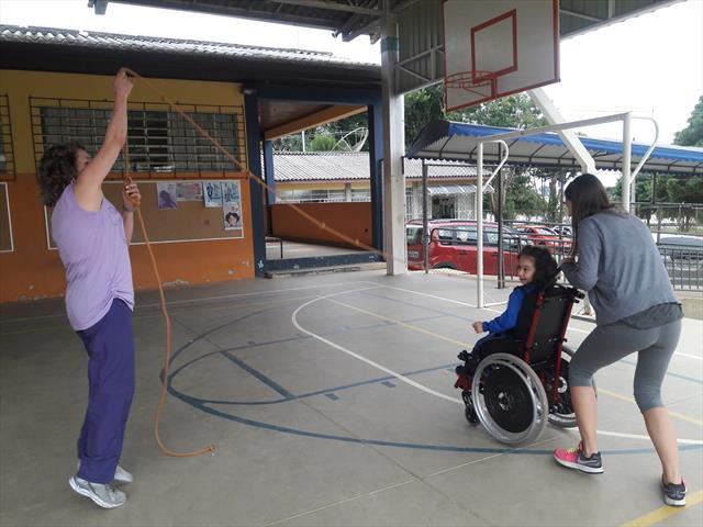 Educação física como um meio para a inclusão social