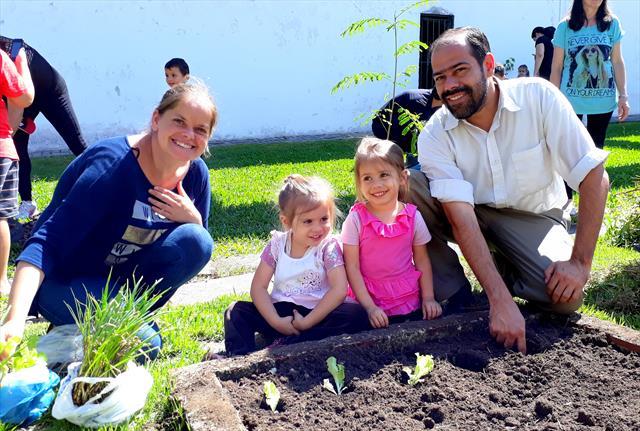 Sábado: Integração com as famílias