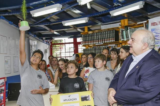 Farol do Saber e Inovação Manuel Bandeira é inaugurado no Pilarzinho