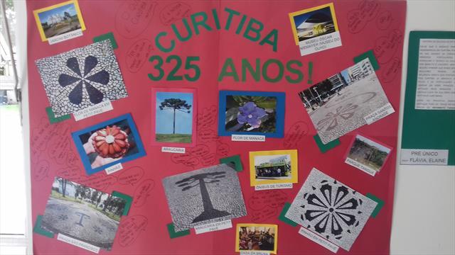 As crianças se encantam com Curitiba.