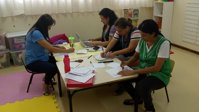 Reunião de Organização da Documentação Pedagógica