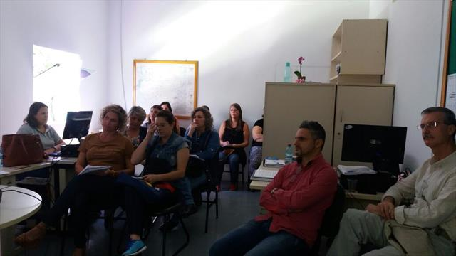 Reunião do PDDE no Núcleo Matriz