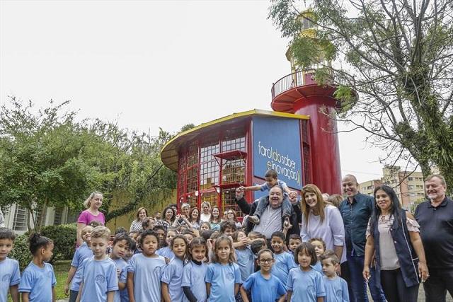 Estudantes criam jogo sobre Curitiba em novo Farol do Saber e Inovação