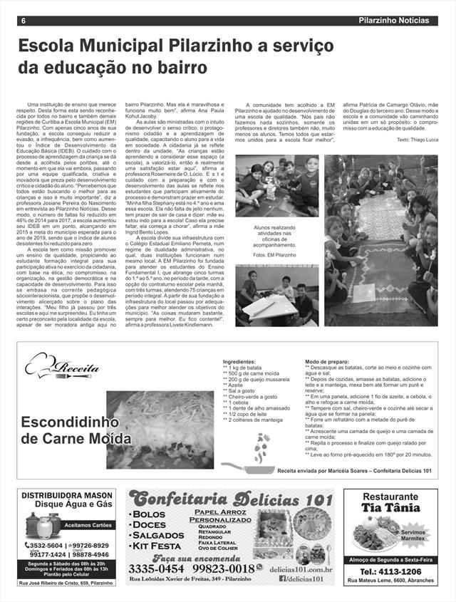 Jornal Pilarzinho