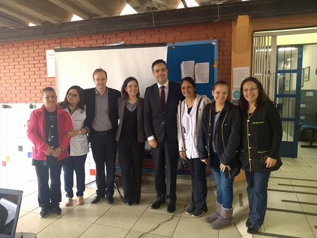 Alunos participam ativamente da 2ª etapa do projeto Cidadania e Justiça na escola.